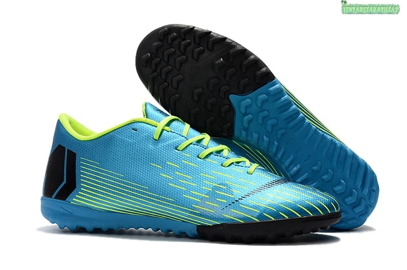 Venta Nike Mercurial Vapor XII TF Teal Amarillo Lineal