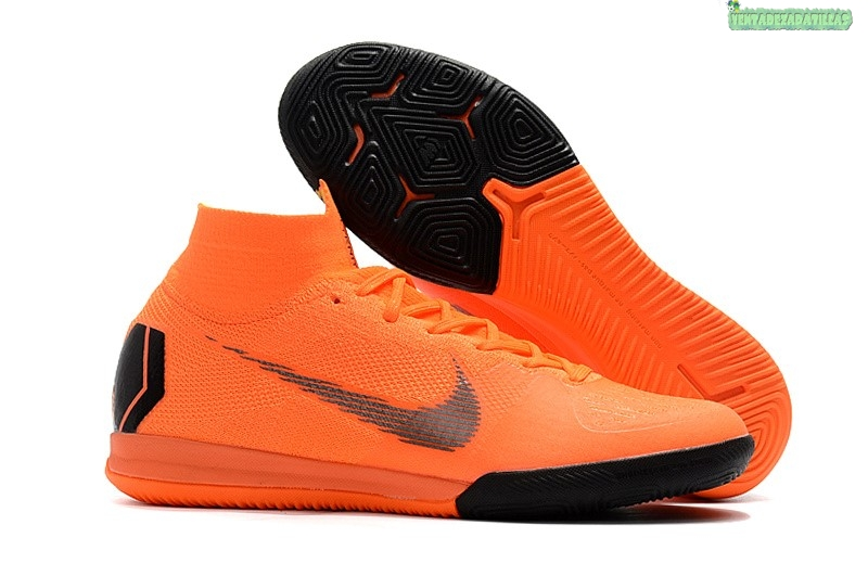 Venta Nike SuperflyX 6 Elite IC Naranja