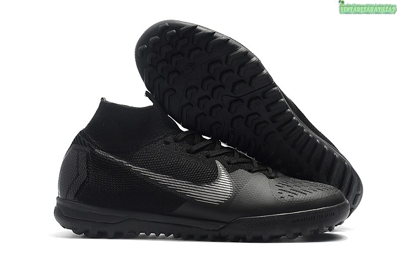 Venta Nike SuperflyX 6 Elite TF Blanco Negro