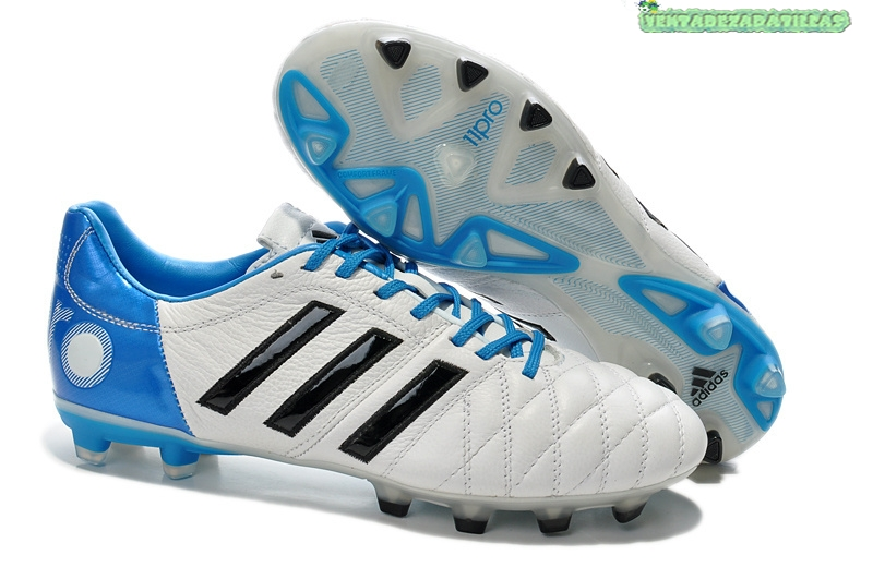 newest collection 187f8 9f798 Venta Adidas AdiPure 11Pro VI FG Blanco Azul