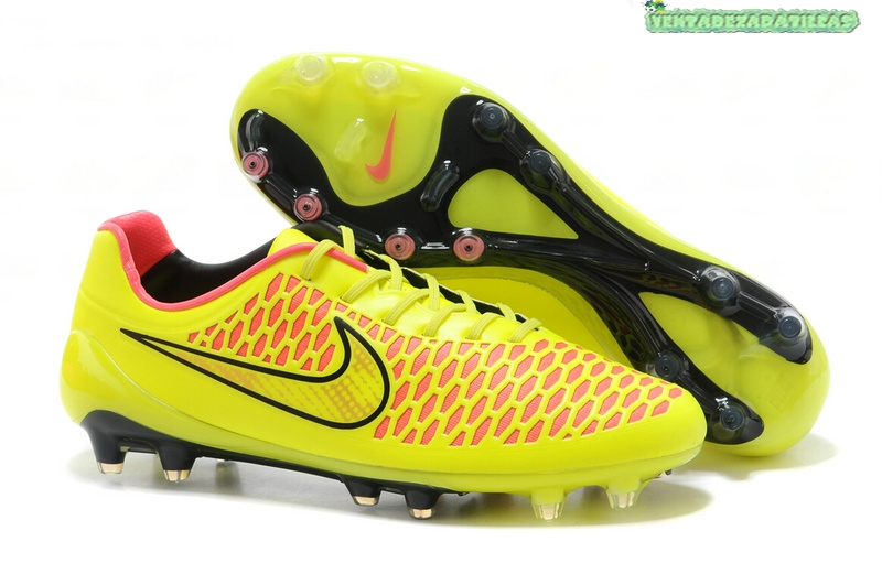 wholesale dealer b6fee 75c87 Venta Nike Magista Orden FG Verde Fluorescente Rojo